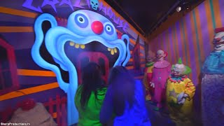 Killer Klowns from Outer Space maze at Halloween Horror Nights Universal Studios Hollywood