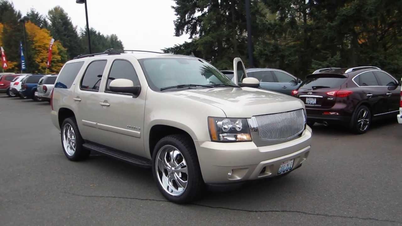 Chevrolet Tahoe 97 >> 2007 Chevrolet Tahoe, Gold Mist - STOCK# 6069581 - Walk around - YouTube