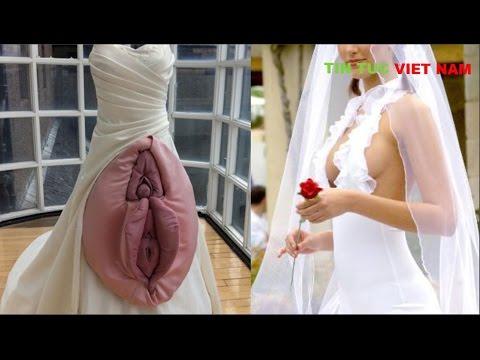 Những chiếc váy cưới kỳ lạ và độc đáo nhất thế giới