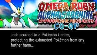 KYUREM DESTROYS OUR TEAM ALREADY!? | Pokemon Omega Ruby Alpha Sapphire RANDOMIZER Nuzlocke Co-Op #3