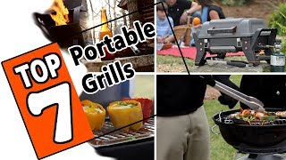 🌻 Best Portable Grills of 2019 - Review Of The 7 Top Rated Grills For Camping Or Your RV.