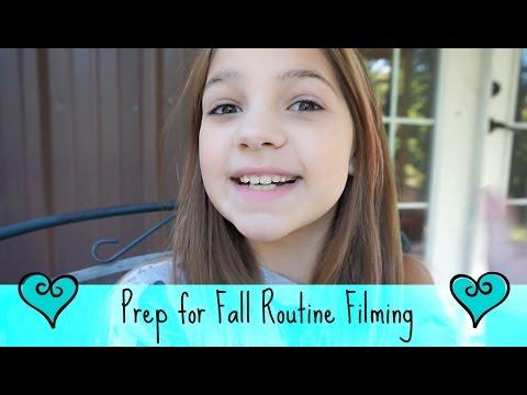 Fall School Night Routine Filming Prep   Shopping Vlog