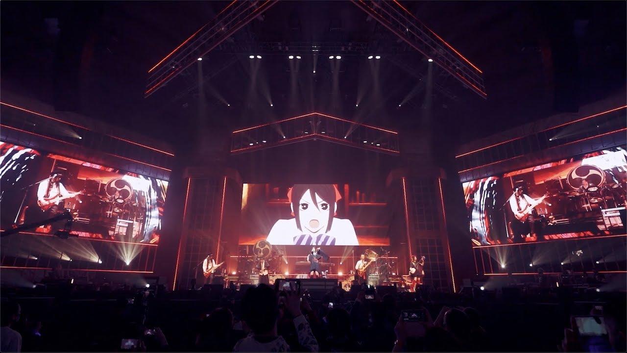 """和楽器バンド / """"生命のアリア"""" from 大新年会2021 日本武道館 〜アマノイワト〜"""