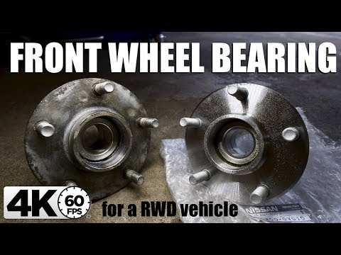 How to Replace a Front Wheel Bearing & Hub Assembly on a RWD Car