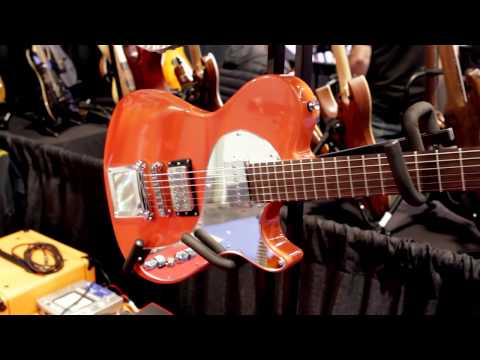 Manson Guitars- NAMM 2013: Product Showcase