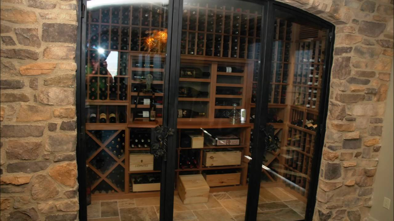 Mini Wine Cellar Ideas ideas basement wine cellar - youtube