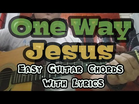 One Way By Hillsong | Easy Guitar Chords With Lyrics | Worship Through Music