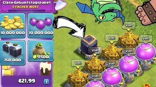 GEBURTSTAGSPAKET KAUFEN! || CLASH OF CLANS || Let's Play CoC [Deutsch German]