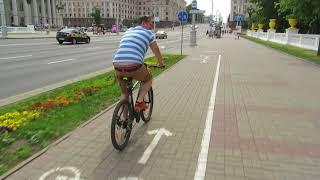 Cycling Minsk - Belarus Resimi