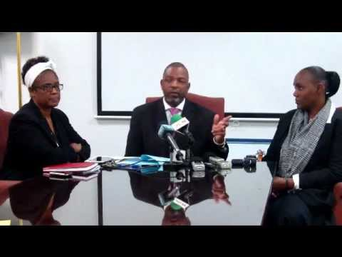 Bahamas Pharmacy Council Press Conference - Philip Gray R.Ph