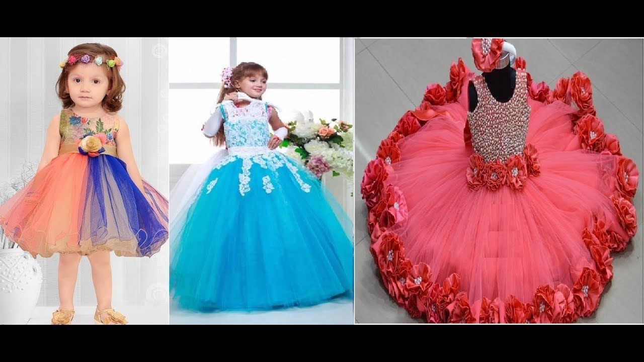 Kids Birthday Party dress designs - YouTube