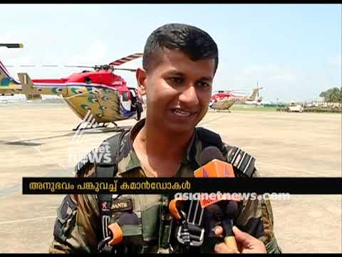 Garud Commandos sharing their experiences while rescue operation
