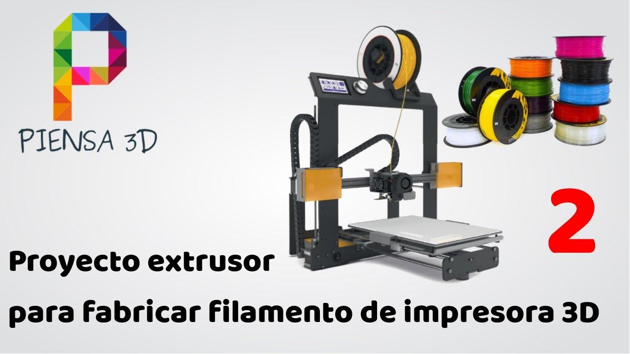 Proyecto de fabricaci n de una extrusora de pl stico for Construir impresora 3d