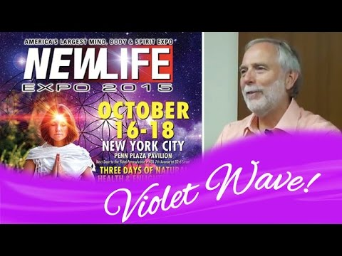 NEWLIFE Expo -  Receive an Alchemical Boost with Saint Germain and the New Violet Wave