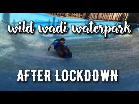 WILD WADI WATERPARK REOPENED AFTER LOCKDOWN | DUBAI VLOG 2020 | VLOG #46