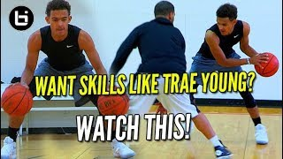 YOU WANT SKILLS LIKE TRAE YOUNG? WATCH THIS Ballislife Training Session