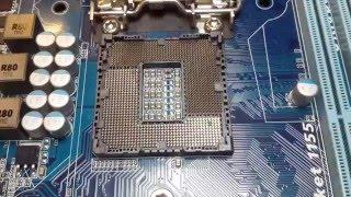 Ремонт материнской платы GA-H61M. Не работает слот DDR