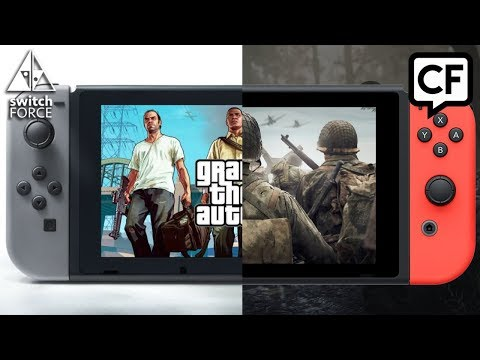 CF #30: Are COD and GTA Coming to Switch? New 2018 Switch Games