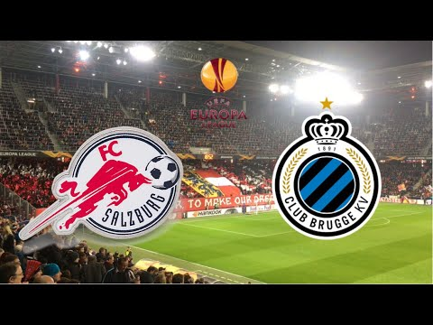 FC Salzburg - Club Brugge KV | Nordkurve Salzburg | Club Brugge Fans | Atmosphere | Europa League