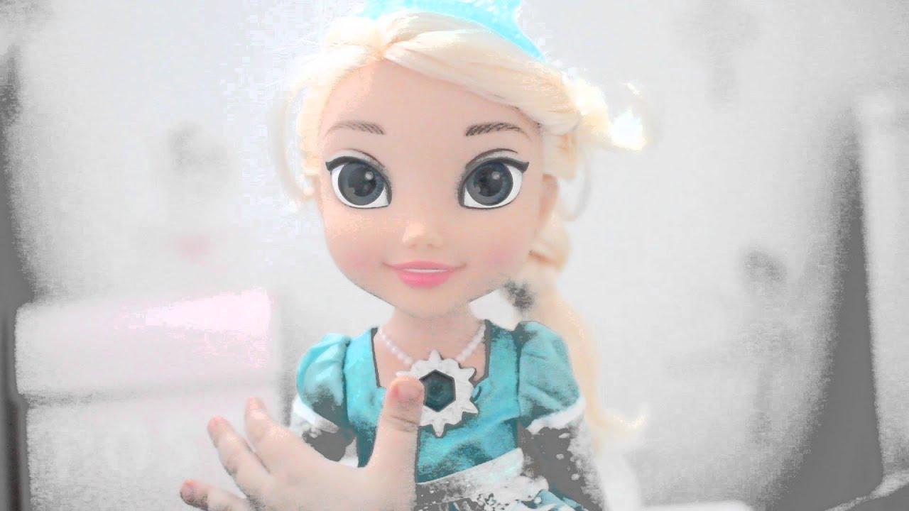 elsa docka frozen