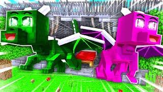 ISY & FLO als BABY DRACHEN im GEFÄNGNIS?! - Minecraft GEFÄNGNIS