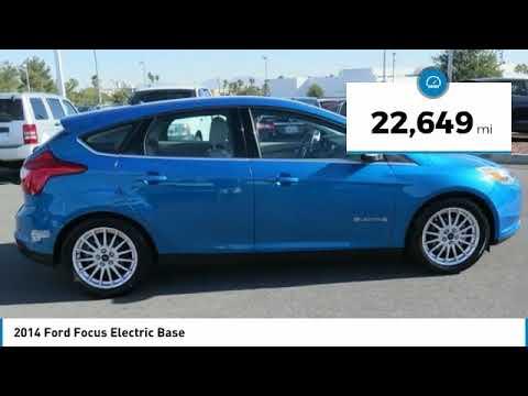 2017 Ford Focus Electric Las Vegas Nv Mh1148b