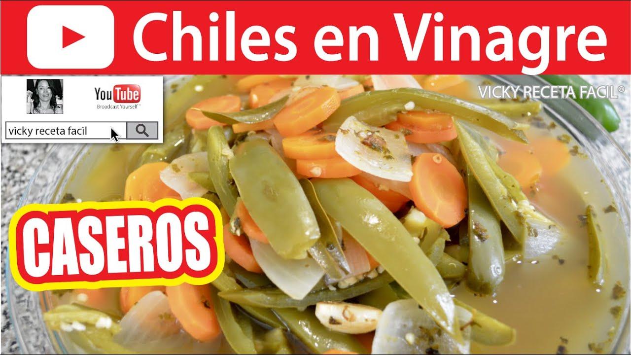 how to make chiles en vinagre