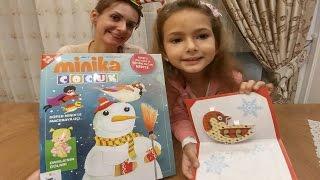 Minika çocuk dergisi açtık , biz çok beğendik ,hem eğlendik hem öğrendik