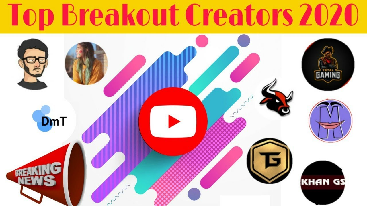 CarryMinati कितने No.पे🙄| Top 10 BreakOut Creator💐Who is number ONE youtuber ?