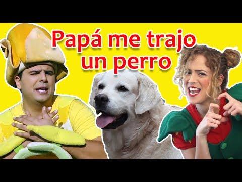 Fozi Mozi y Tutti, papá me trajo un perro | Canciones para niños