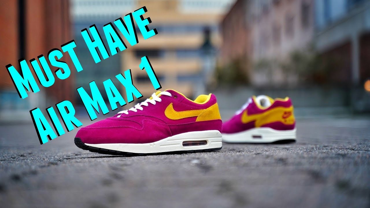3 Reasons the Nike Air Max 1 Dynamic Berry is still a Must Have in 2019