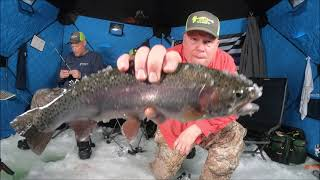Ice Fishing South Central Utah