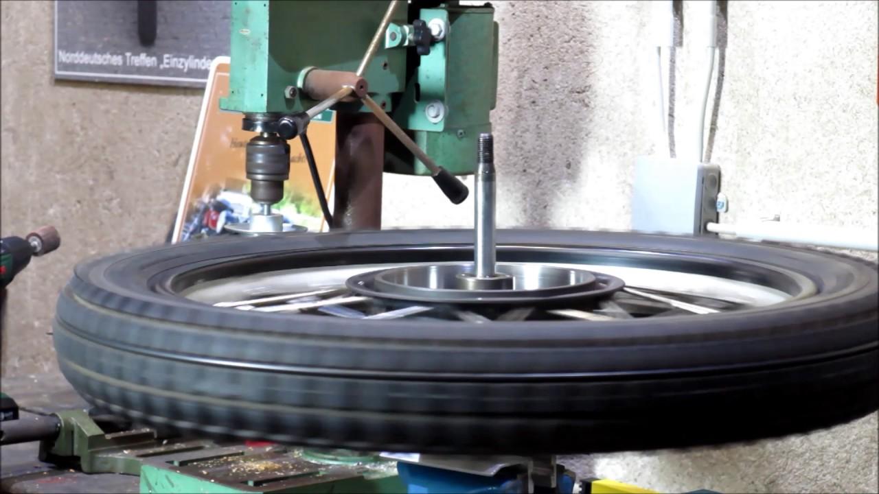 Prächtig Bremstrommel ausschleifen - YouTube #SP_78