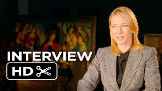 The Monuments Men Interview - Cate Blanchett (2014) - George Clooney Movie HD