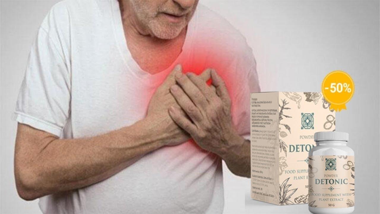 DETONIC, la pressione arteriosa, trattamento dell..