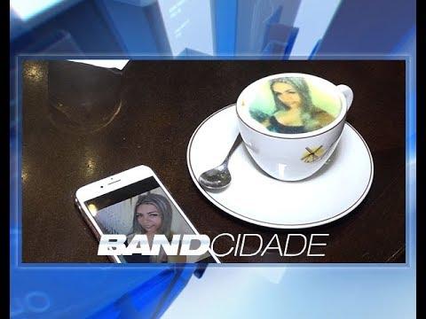 Máquina permite tomar cafés com suas fotos estampadas; entenda