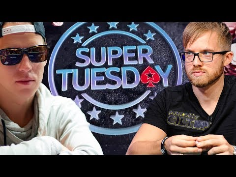 Final Table Super Tuesday With Martin Jacobson & C. Darwin Replay 19.03.19