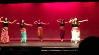 Nagada song dhol-Bollywood & Belly Dance fusion