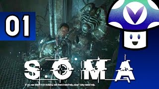 Vinny streams SOMA for PC live on Vinesauce! ▻ http://somagame.com/...