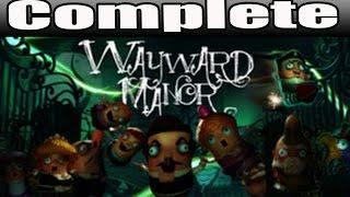 Wayward Manor Full Game Walkthrough / Complete Walkthrough