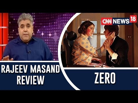 Zero Movie review by Rajeev Masand | Shah Rukh Khan, Anushka Sharma, Katrina Kaif