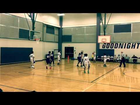 Damien Chapa 7 Th Grade Basketball Goodnight Vs Miller