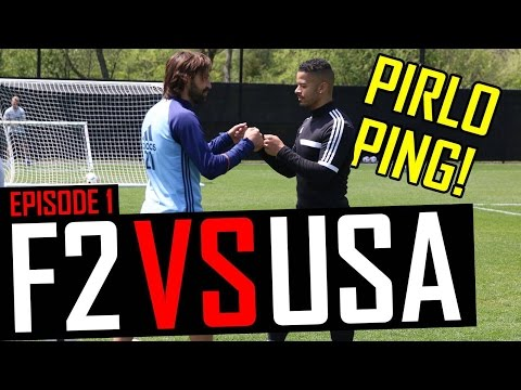 Andrea Pirlo AMAZING Passing Master Class! F2 VS USA