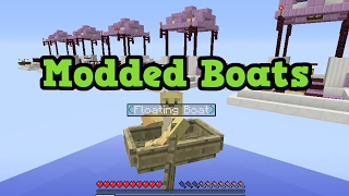 Minecraft Xbox One / PS4 MODS - Floating Boats!?