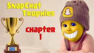 👻 Unlock 10 Snapchat Trophies In 10 Minutes 👻