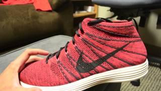 Nike Lunar Flyknit Chukka - Deep Burgundy