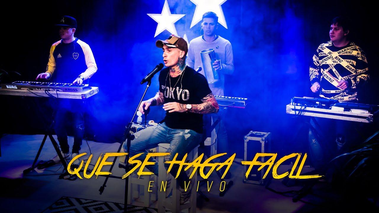 Ke Personajes - Que se Haga Fácil (En Vivo Junto a Diego Maradona)
