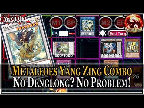 Metalfoes Yang Zing Combo 2018: No Denglong? No Problem! (4 Disruptions on Opponent's Turn)