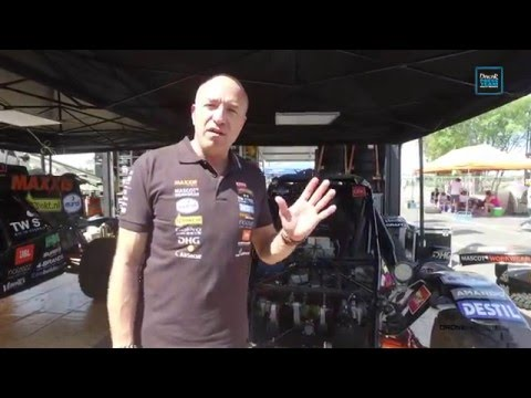 Interview Tom Coronel (dutch), Dakar 2016