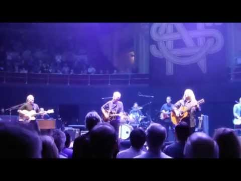"Crosby, Stills & Nash ""Teach Your Children Well"" Royal Albert Hall London Oct-11-2013"